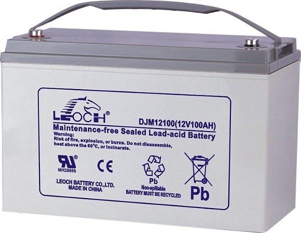 Гелевые аккумуляторы Leoch серии DJM
