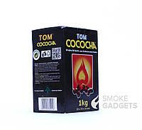 Уголь для кальяна Tom Cococha 1 кг, без упаковки