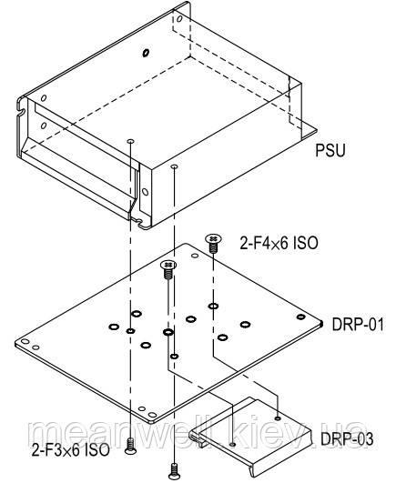 DRP-01 Аксессуары  Mean Well ― металлическая пластина