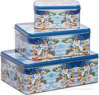 Набор коробок для печенья 3 шт. 12268 Fackelmann T51602024