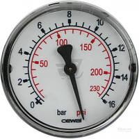 """Манометр Cewal Д63 1/4"""" 16бар фронтальный CEWAL T70128030"""