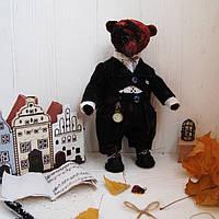 Медведь в стиле Тедди, музыкант, фото 1