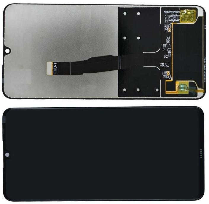 Дисплей модуль Huawei P30 Lite / Nova 4e в зборі з тачскріном, чорний