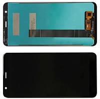 Дисплей модуль Asus ZB570TL Zenfone Max Plus M1 X018D в зборі з тачскріном, чорний