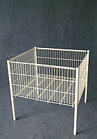 Кошик підлогова Акційний стіл Демонстраційний стіл 600х600х850(h)