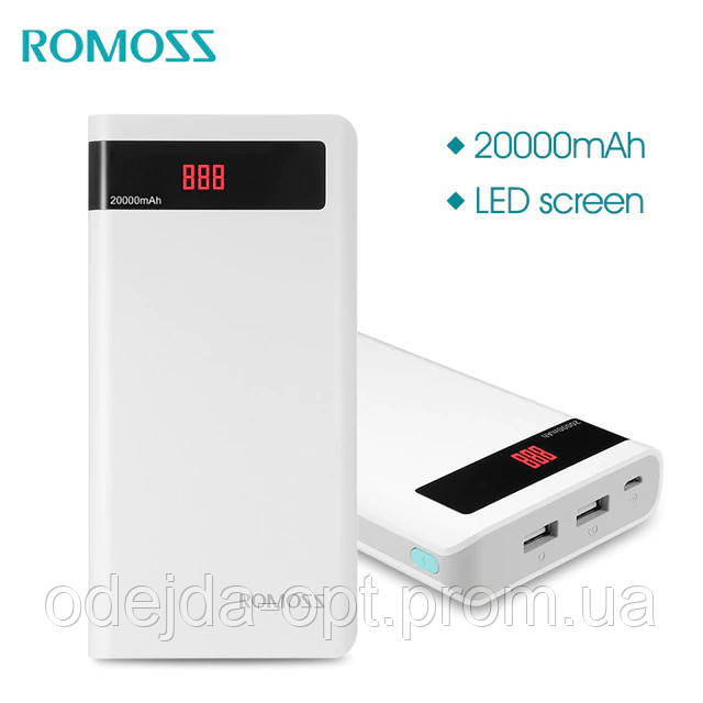 Power Bank ROMOSS Sense 6P 20000 мАч