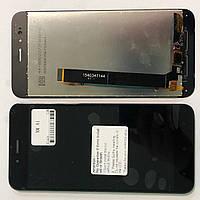 Дисплейний модуль для телефону Xiaomi Mi A1, MI 5X в зборі з тачскріном, чорний, High Copy