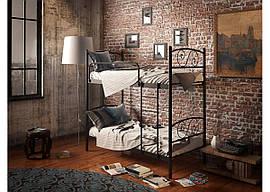 Кровать металлическая Виола (2 яруса) Тенеро  800х1900(2000)
