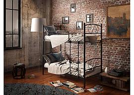 Кровать металлическая Виола (2 яруса) Тенеро 900х1900(2000)