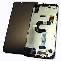 Xiaomi Дисплей Xiaomi Mi A2 / Mi6X + сенсор черный и рамка (оригинал 100%)