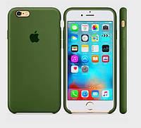 Silicone case Iphone 6/6s Virid (хаки)  Мягкий чехол
