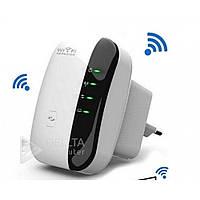 Ретранслятор Wifi для подключения к беспроводной сети Repeater WR03 WLAN, 300Mbps, встроенные антенны