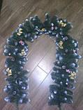 *хвойные гирлянды 3000 см с декором!!, фото 2