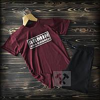 Спортивні Чоловічі шорти і футболка Armin (Ван бюрен) / Літні комплекти для чоловіків