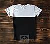 Черно-белая мужская футболка / Футболки с надписями на заказ