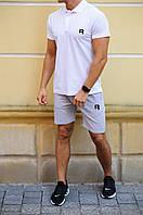 Мужские шорты и футболка поло Reebok (Рибок), фото 1