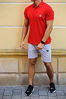Чоловічі шорти і футболка поло Аdidas (Адідас)