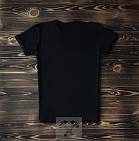 Черная мужская футболка / Футболки с надписями на заказ
