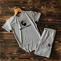Мужские шорты и футболка Mortal Kombat (Мортал Комбат) / Летние комплекты для мужчин