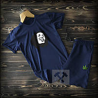 Спортивні Чоловічі шорти і футболка Bob Marley (Боб Марлі) / Літні комплекти для чоловіків