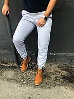 Теплые серые спортивные штаны мужские / Мужские спортивные брюки осень-зима, фото 1