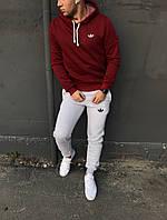Теплый мужской спортивный костюм Адидас (Adidas) / ОСЕНЬ-ЗИМА, фото 1
