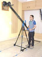 Кран для студийной съемки ProAIM studio jib 4' (1,2м) + тележка + рельсы