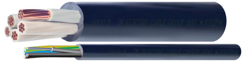 Кабель ВВГз 3х16+1х10  (0,66кВ)