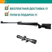 Пневматическая винтовка SPA ARTEMIS SR1250S NP NEW оптический прицел 3-9х40 газовая пружина 380 м/с