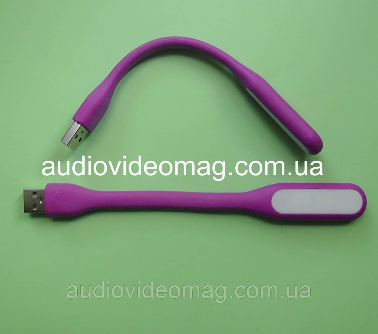 Гибкая USB LED подсветка - 6 светодиодов