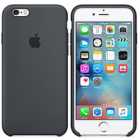 Silicone case Iphone 7/8 сиреневый,Dark Grey серый Мягкий чехол
