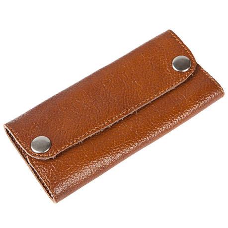 Ключница-портмоне кожанная 13х6,5х2,5 BagHouse на 6 ключей    клКН13кор, фото 2