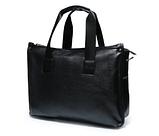 Жіноча сумка чорна кожзам, фото 2