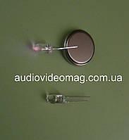 Светодиод 3V 5 мм, инфракрасный, длина волны 940 нм