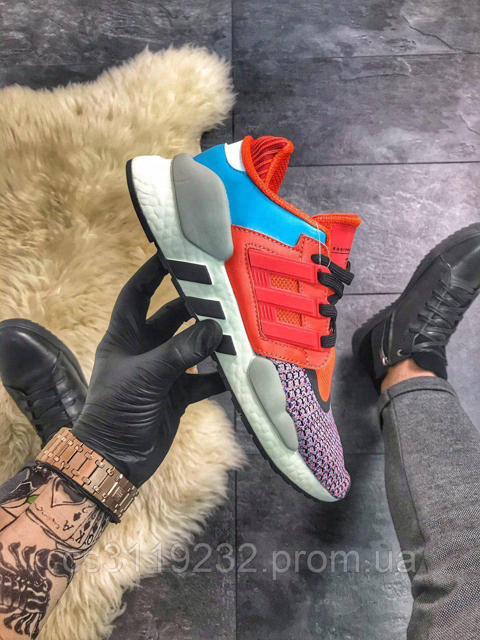 Мужские кроссовки Adidas EQT 91/18 Red Violet Blue