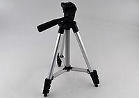 Штатив для фотоаппарата + крепление для телефона  Tripod 3120A, тренога держатель для камеры