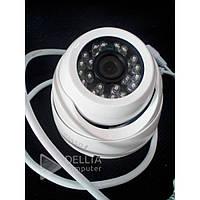 Гибридная видеокамера Fosvision FS-398N-20 белый, 1080, 2.0MP, металл, проводная, видеонаблюдение Fosvision, камера видеонаблюденя
