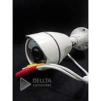 Гибридная видеокамера Fosvision FS-621N-20 белая, 1080, 2.0MP, металл, 12V, 2A, 3.6mm, видеонаблюдение Fosvision, камера видеонаблюденя