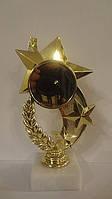 Статуетка RP8909-6 для жетону Ø50 3 зірки,H-15cm.