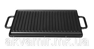 Чавунний гриль на 2 конфорки Fabiano G 2642 BLACK (чорний)
