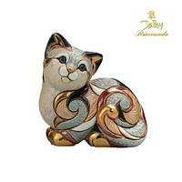 Фигурка De Rosa Rinconada Emerald Cat The Families Collection Кошка Пятнистая F106