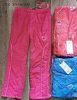 Болоневые утепленные штаны для девочек оптом, S&D, 134-164 см,  № ХСС-32