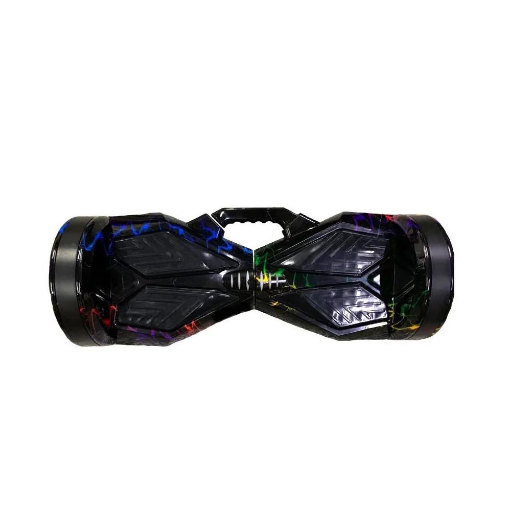 Гироборд 8 BT Разноцветная молния  (АКБ Samsung) Самобаланс + 3Tao-Tao APP