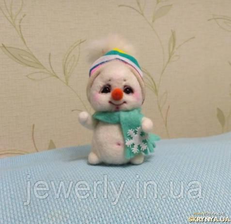 """Интерьерная игрушка """"Снеговичок"""""""