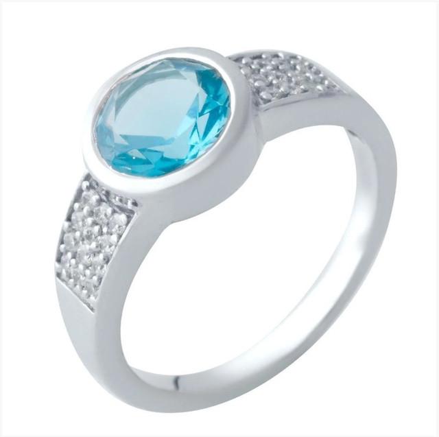 Кольца с nano камнями
