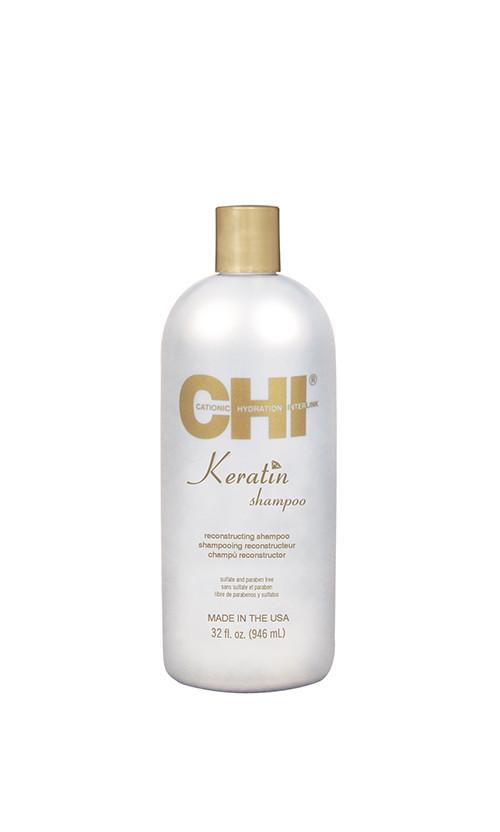 CHI Keratin Shampoo - Шампунь кератинове відновлення 946 мл код 25882