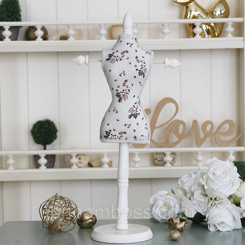 Подставка для украшений манекен платье