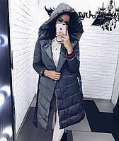 Куртка женская чёрная, хаки, бордо, графит, 42, 44, 46, 48, фото 1