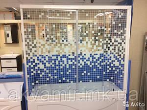 Душевая штора стекло Мозаика 150