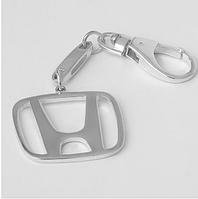 """Брелок """"Хонда"""" из родированного серебра 925 пробы"""